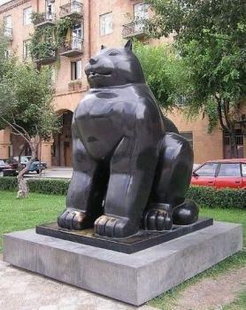 Кот-толстячок из Еревана