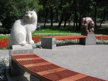 Петергофские коты