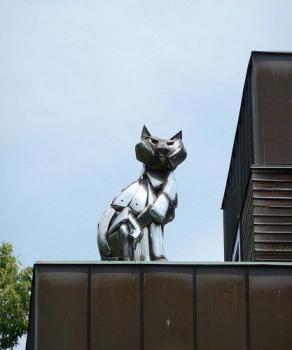 Американский памятник коту